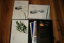 2009 SAAB 9-3 / 93 CONVERTIBLE OWNERS MANUAL & SAAB CASE + INFOTAINMENT BOOK ++
