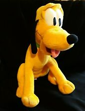"Disney Kohls Cares PLUTO Dog Plush Stuffed Animal Mickey Mouse Green Collar 12"""