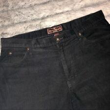Steve & Barry Men's Black Flat Front Corduroy Pant EUC