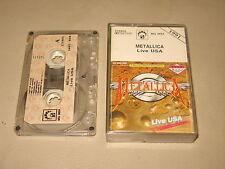 METALLICA - Live USA - MC Cassette tape 1991/2231