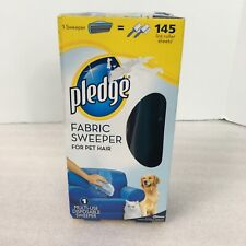 Pledge Fabric Surface Sweeper For Pet Hair 1 Multi-Use Disposable Handheld Box