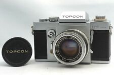 @ Ship in 24 Hrs @ Excellent! @ Topcon RE Super SLR Film Camera Topcor 58mm f1.8