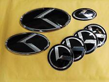 7pcs/set K logo sticker Emblem Badge for Kia K5 2013 2014