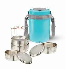 Milton Electron Stainless Steel Lunch Box Electric Hot Case - Blue