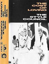 Style Council The Cost Of Loving CASSETTE ALBUM TSCMC 4 PAUL WELLER MOD SOUL