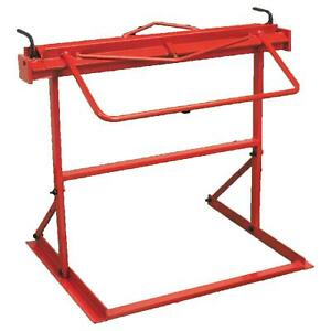 Sealey 910mm Floor Standing Metal Folder Manually Operated 2mm Rod Red DF910
