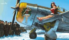 EDK11103-Eduard KIT 1:32 Ltd Edit-P-47D Dottie MAE con stampa A2