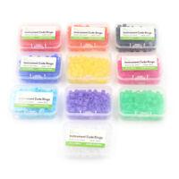 Dental / Hygienist Instrument Silicone Color Code Rings 100 Pcs Autoclavable