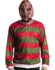 Nightmare On Elm St Freddy Krueger Hoodie Mens Teen Jacket Costume XS Small 32