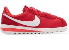 NIKE Cortez Epic Premium Canvas & Suede Red & White Sneakers NWOB  U.S 11 UK 8.5