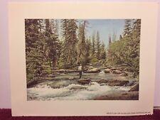 """ARTIST'S DAY OFF"" by JON CRANE in Watercolor, Signed, Unframed"