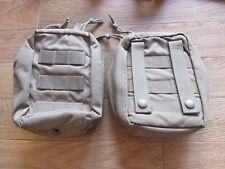 (2) US MIL COYOTE TAN MOLLE AN/PVS-14 MNVD POUCHES!!! MINT AND READY TO SERVE!!!