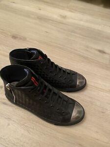 Nagel Neue Designer Schuhe France OPP Sneaker Gr 41 Halbschuhe Neu Np 299€ Leder