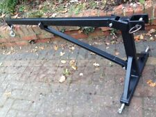 TRACTOR JIB HOIST TRACTOR CRANE 3 POINT LINKAGE CAT 1