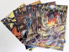 Dark Horse AVP Alien VS Predator Aliens Rogue #1-4 Comic Book Bunduru Lot [a]
