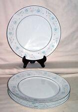 "Vintage English Garden Fine China #1221 Japan (4) 10"" Dinner Plates"