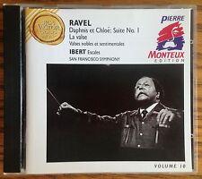 Ravel Daphnis et Chloe: Suite No. 1 CD RCA Victor Gold Seal, Monteux Edition