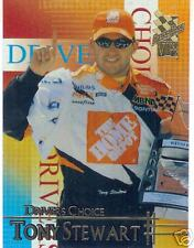 2002 press pass Vip Drivers Choice Tony Stewart