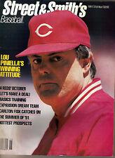 1991 Street & Smith's Baseball Magazine Lou Piniella Cincinatti Reds Issue