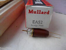 Ea52 mullard red box pour marconi tf1041c sonde new old stock Valve Tube N13