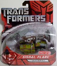 "SIGNAL FLARE Transformers 1 Movie 4"" inch Scout Class Autobot Figure Target 2007"