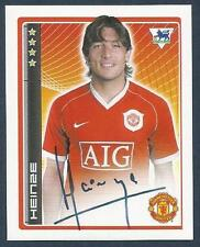 MERLIN-2007-F.A.PREMIER LEAGUE 07- #281-MANCHESTER UNITED & ARGENTINA-HEINZE