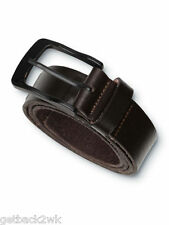 """NEW* QUIKSILVER SURF Lifted BELT LEATHER MENS XL 38"""" Brown $40 Retail"""