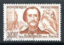 STAMP / TIMBRE FRANCE OBLITERE N° 1212 CELEBRITE / BARTHOLDI