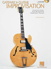 Gateway To Guitar Improvisation Learn to Play Blues jazz Music Book & CD