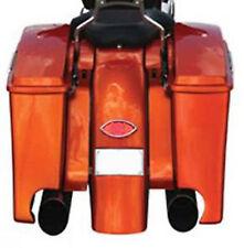 Bag Extensions w/ Exhaust Cutouts '93-'07 FLH Harley Klock Werks
