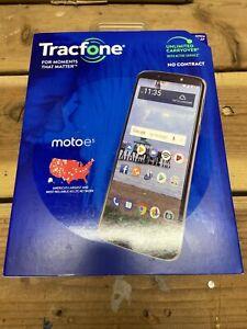 "Tracfone Motorola Moto e5 5.7"" 16GB Android 8.1 Oreo Smartphone"