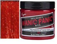 Manic Panic Hair Dye Color Vegan Cream Formula Semi-Permanent .118ml/4 oz Colour