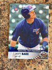 2014 PCL Top Prospects Iowa Cubs Javier Baez RC - Cubs Baez Minor League RC