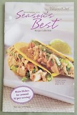Pampered Chef Seasons Best Recipe Collection Spring/Summer 2010 - ***NEW***