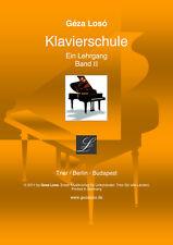 Loso Klavierschule - Ein Lehrgang - Band 2 für Rechtshänder-Tasteninstrument