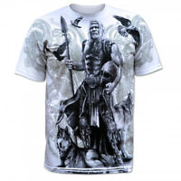 T-Shirt Norse Viking Odin Thor Ragnarok Ragnar Vikings Valhalla Floki Wikinger M