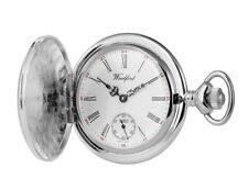 Chrome Pocket Watches with 17 Jewels