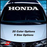 HONDA Windshield Decal JDM sticker vinyl custom graphic civic accord car window