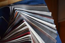 """Lot of 90 Leather Upholstery 8.75"""" x 9.5"""" Craft Squares Salesman Sample"""