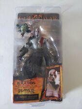 NECA God of War 2 II Kratos Golden Fleece Armor with Medusa Head action Figure