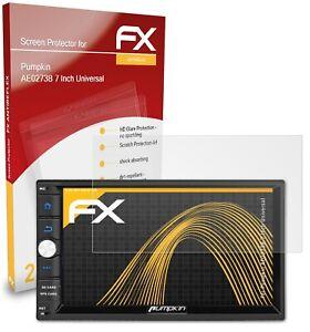 2x Screen Protection Film for Pumpkin AE0273B 7 Inch Universal matt&shockproof