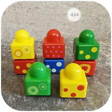Lego Duplo-Triángulo-amarillo-para sortierbox sortiereimer-primo