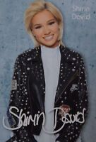 SHIRIN DAVID - Autogrammkarte - Autogramm DSDS Fan Sammlung Clippings NEU