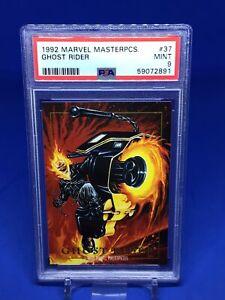 1992 Marvel Masterpieces Ghost Rider PSA 9 #37 Defenders