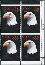 2540, $2.90 Priority Mail Misperforation Shift ERROR Plate Block -- Stuart Katz