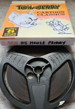 """TOM AND JERRY """"HIS MOUSE FRIDAY """" SUPER 8MM COL AND SOUND."""