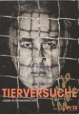 Autogramm AK Udo Walz Friseur der Spitzenklasse Berlin handsigniert Motiv Gitter