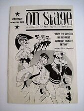 "1964 Orpheum Minneapolis for ""How To Succeed In Business w/o Really Trying"" *"