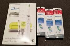 Philips Sonicare DiamondClean White Edition HX9332/05 New in openBox +15 brushes
