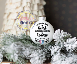 Christmas Ornament, Holiday Ornament, angel baby ornament, infant loss, ivf